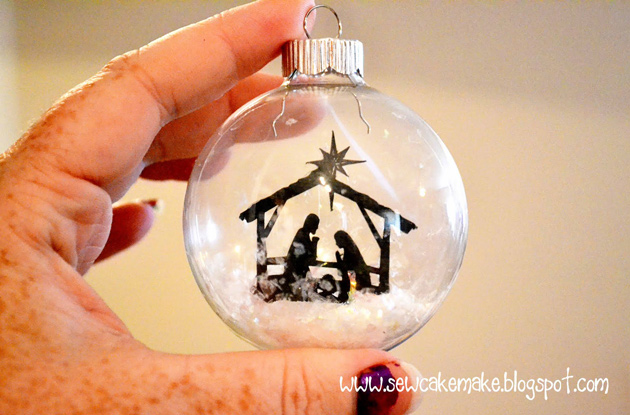 Nativity Christmas Ornaments Lori Whitlock