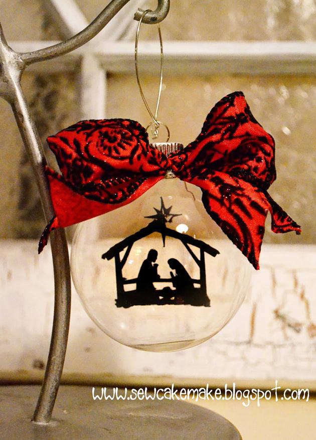 Nativity Christmas Ornaments Lori Whitlock