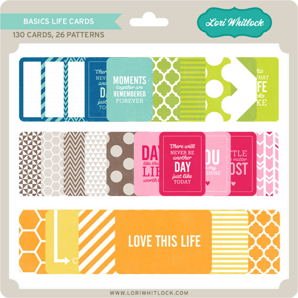 Life Cards by Lori Whitlock now at Jessica Sprague » Lori ...