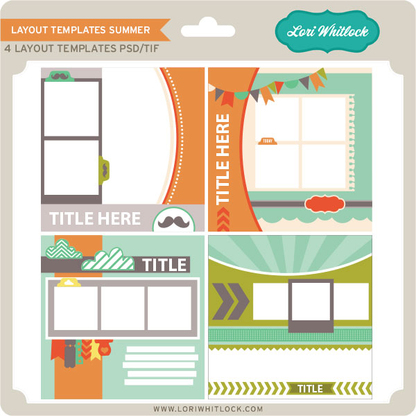 new at jessica sprague layout template sets