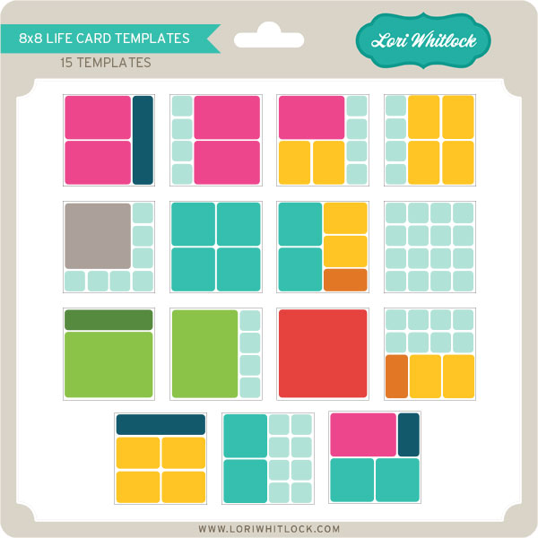 card layout templates