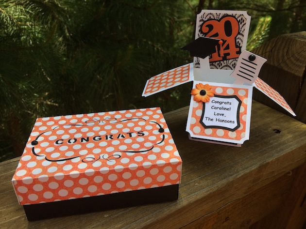 Graduation gifts with traci lori whitlock for Table 6 gift card