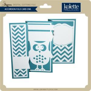 KH-Accordion-Fold-Card-Owl