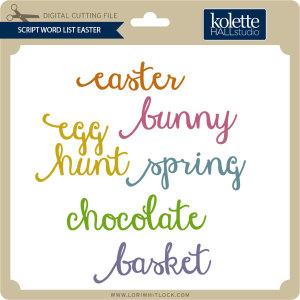 KH-Script-Word-List-Easter