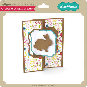 LW-A2-Flip-Swing-Card-Easter-Bunny