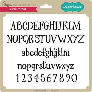 LW-Sketchy-Font