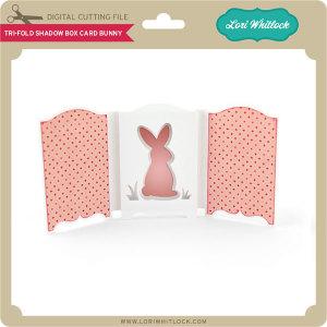 LW-Tri-Fold-Shadow-Box-Card-Bunny