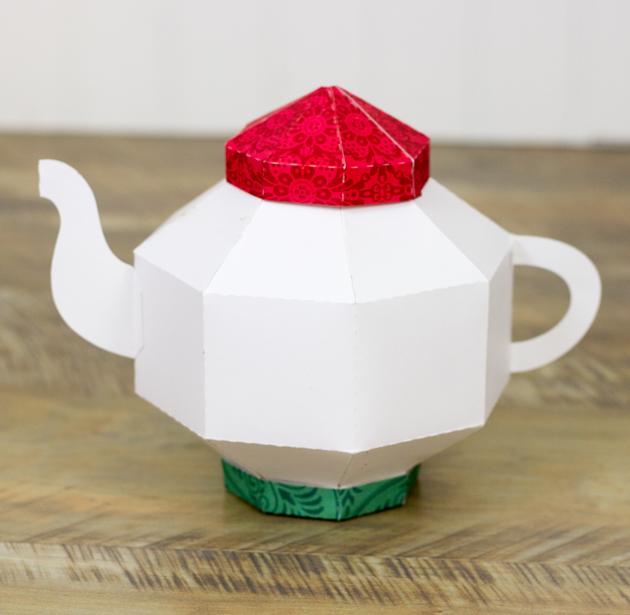 Octagon Teapot Tutorial by Corri » Lori Whitlock