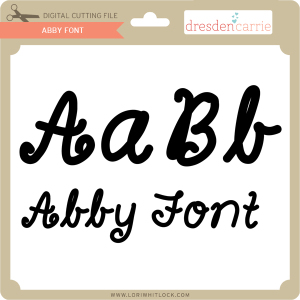 dc abby font
