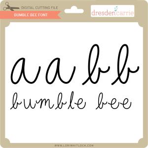 dc bumble bee font