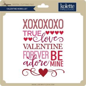 KH-Valentine-Word-List