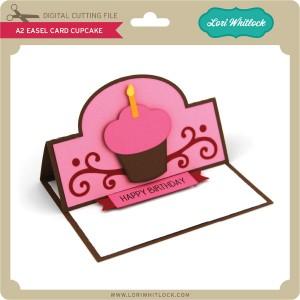 LW-A2-Easel-Card-Cupcake