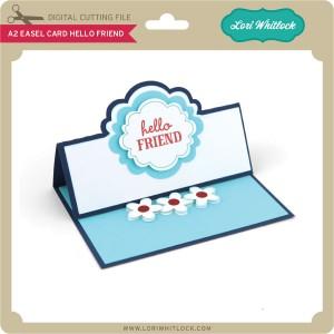 LW-A2-Easel-Card-Hello-Friend