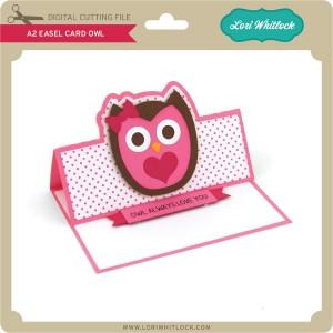 LW-A2-Easel-Card-Owl