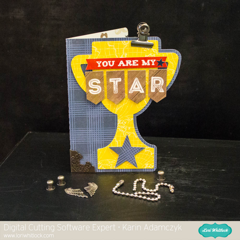 fathers day trophy card trophy card for s day with karin 4450