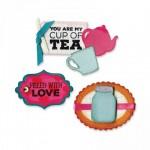 Sizzix Framelits Set Jar and Teapot
