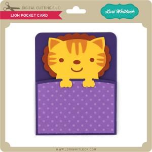 LW-Lion-Pocket-Card