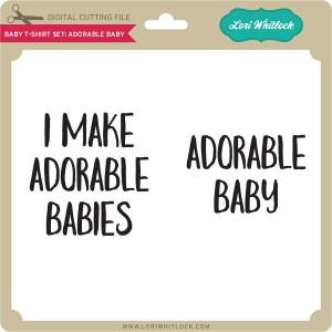 LW-Baby-T-Shirt-Set-Adorable-Baby