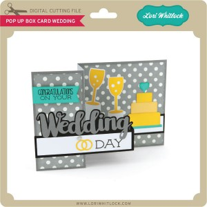 New pop up box cards tutorial lori whitlock lw pop up box card wedding pronofoot35fo Choice Image