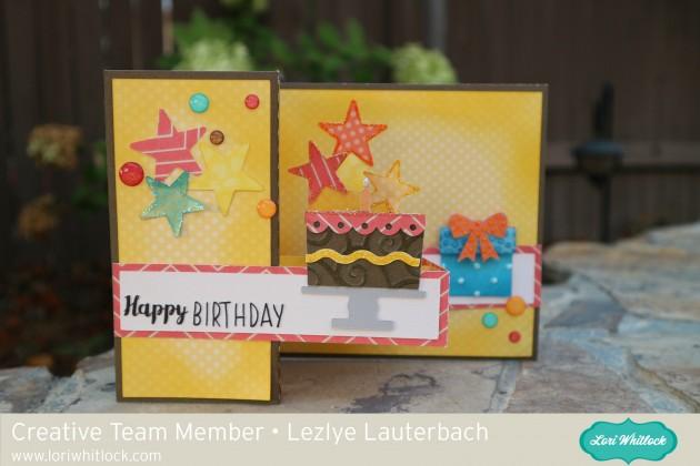Happy Birthday Pop Up Box Card With Lezlye