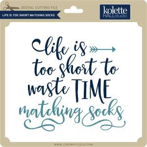 KH-Life-is-Too-Short-Matching-Socks