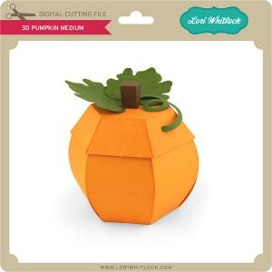 LW-3D-Pumpkin-Medium