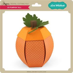 LW-3D-Pumpkin-Tall