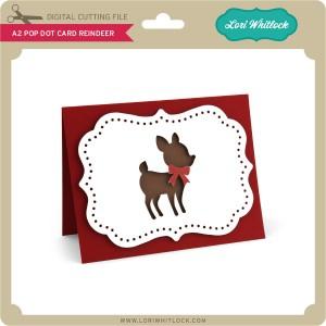 LW-A2-Pop-Dot-Card-Reindeer