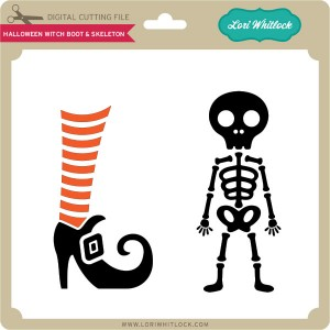 LW-Halloween-Witch-Boot-&-Skeleton