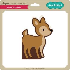 LW-Shaped-Card-Deer