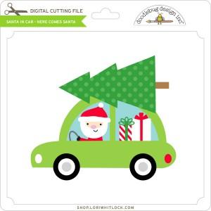 DB-Santa-in-Car-Here-comes-Santa