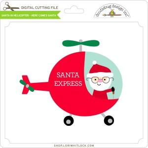 DB-Santa-in-Helicopter-Here-Comes-Santa