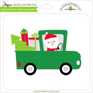 DB-Santa-in-Truck-Here-Comes-Santa