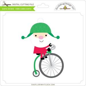 DB-Santa-on-Bike-Here-Comes-Santa