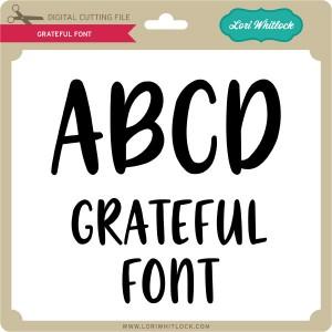 LW-Grateful-Font