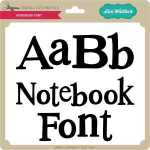 LW-Notebook-Font