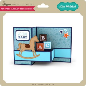 LW-Pop-Up-Box-Card-Baby-Rocking-Horse