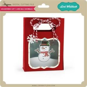 LW-Shadowbox-Gift-Card-Bag-Snowman