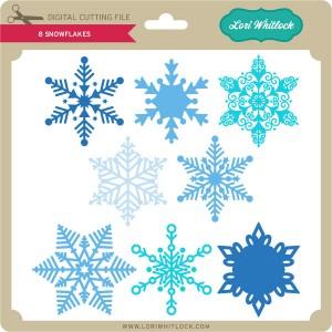 LW-8-Snowflakes