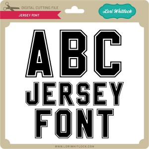LW-Jersey-Font