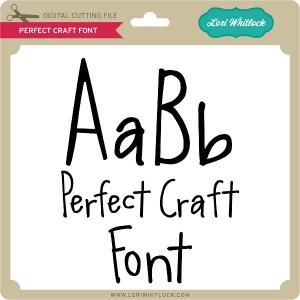 LW-Perfect-Craft-Font