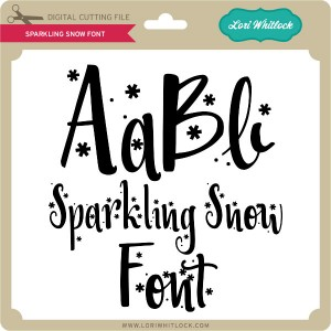 LW-Sparkling-Snow-Font
