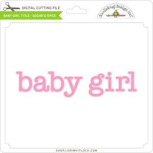 DB-Baby-Girl-Title-Sugar-&-Spice