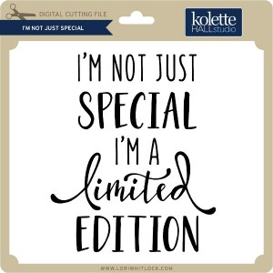 KH-I'm-Not-Just-Special