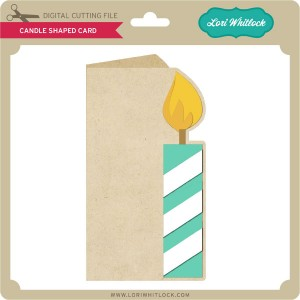 LW-Candle-Shaped-Card