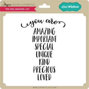 LW-You-Are-Amazing-List