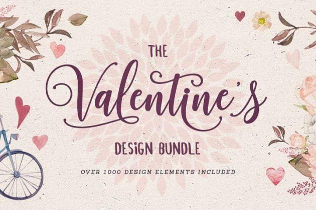 Valentine S Bundle Best Seller 3 Font Bundle