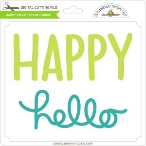 DB-Happy-Hello-Spring-Things
