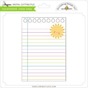 DB-Sun-Notepaper-Spring-Things