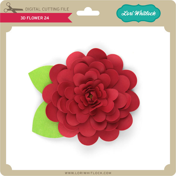 3d flowers tutorial with kathy they are really very simple to assemble and i just want to show you a couple of tricks to make them look more like a real flower i chose 3d flower 24 mightylinksfo